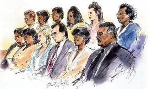 OJ Trial Jury