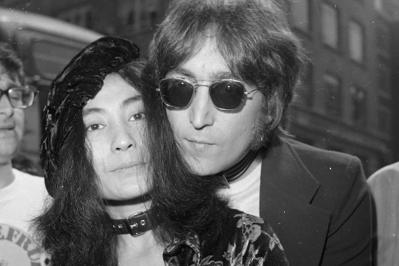 Yoko Ono And John Lennon Celia Cruz | Ri...