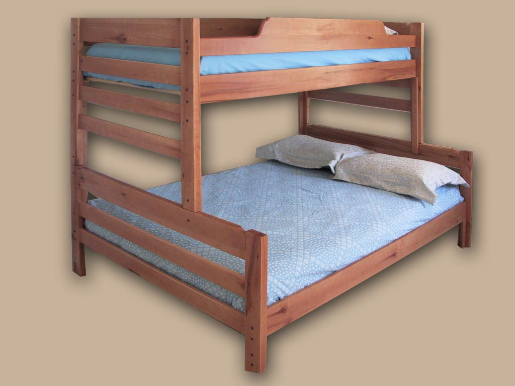 Tweepersoons Stapelbed Hardwood Bunk Beds And Twins