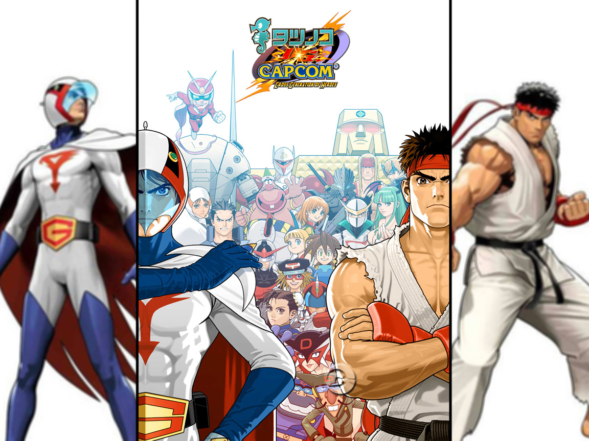 Voltes V Wallpaper Hd Tatsunoko Vs Capcom By Mr Riddler Riddler Reviews