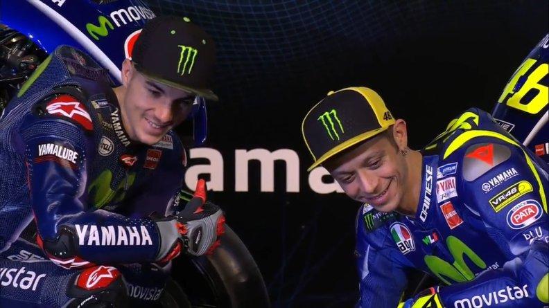 Maverick Vinales dan Valentino Rossi perkenalkan All New R15 Di Indonesia