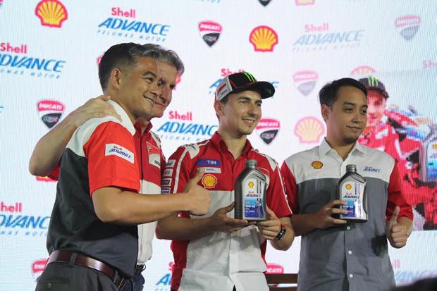 Jorge Lorenzo kali ini bersama Ducati ke Indonesia