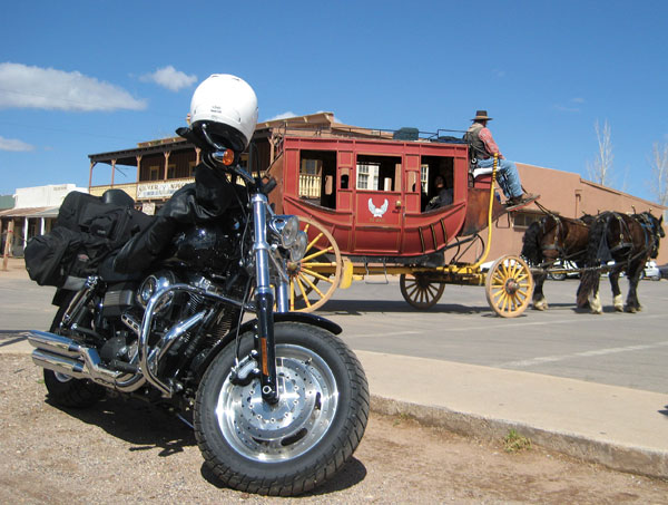 An Arizona Motorcycle Ride Through Tombstone Rider