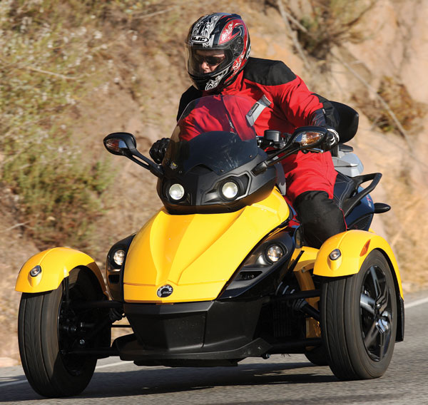 2008 Can Am Spyder First Ride Rider Magazine Rider