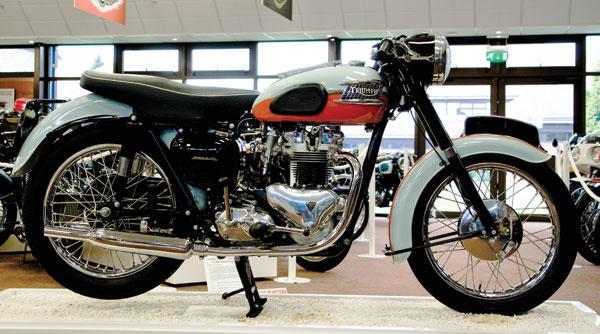 A 1959 Triumph Bonneville.