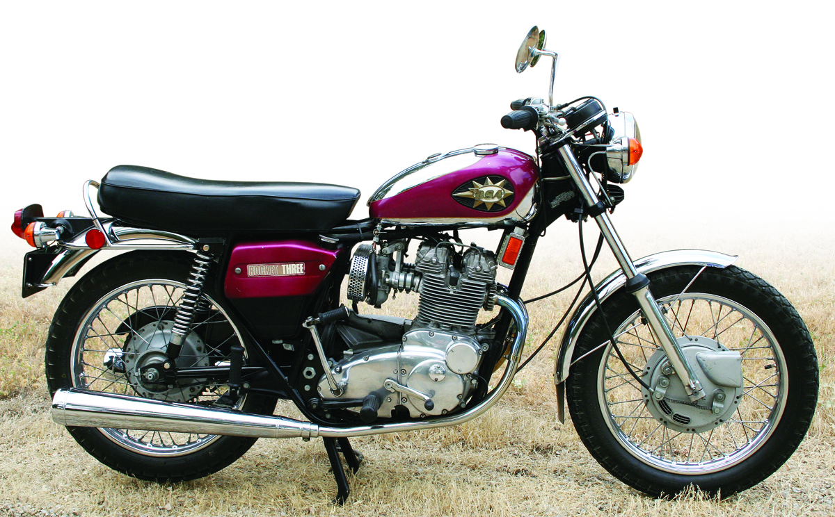 Can Am Parts >> BSA A75 Rocket 3 750: 1968-1972 | Rider Magazine | Rider Magazine