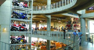 More than 1,400 bikes are on display at the Barber Motorcycle Museum.
