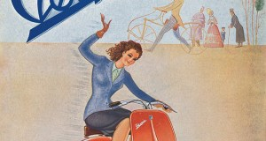 Original Vespa poster from 1946. (Photo: Piaggio)