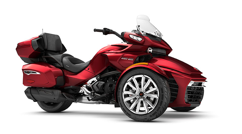 Can Am Spyder F Limited First Look Review Rider Magazine