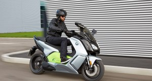 2017 BMW C Evolution electric scooter. (Photo: BMW)