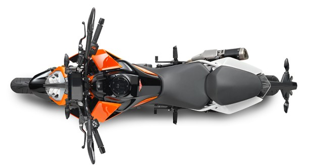 """Light, narrow and powerful, the 390 Duke has """"fun"""" written all over it."""