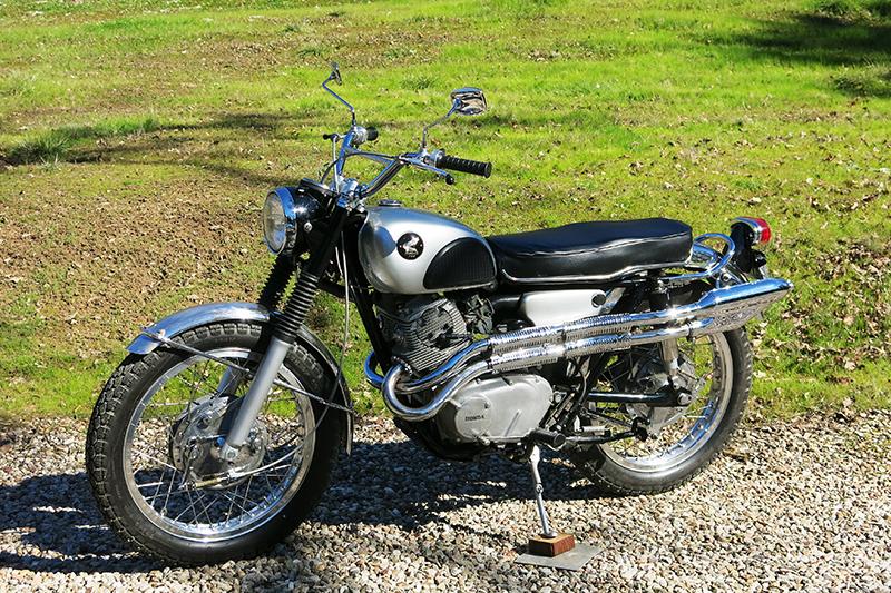 1965-1968 Honda CL77 Scrambler 305 - Review