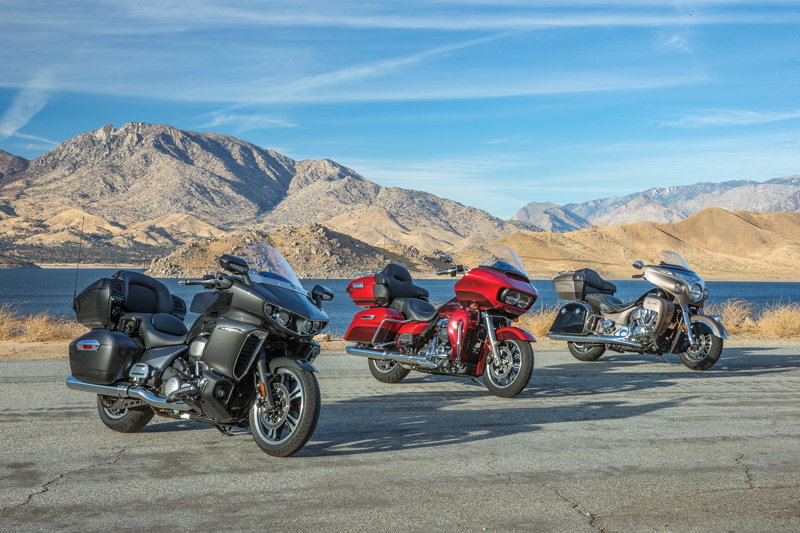 Luxury Touring Comparison Harley-Davidson vs Indian vs Yamaha