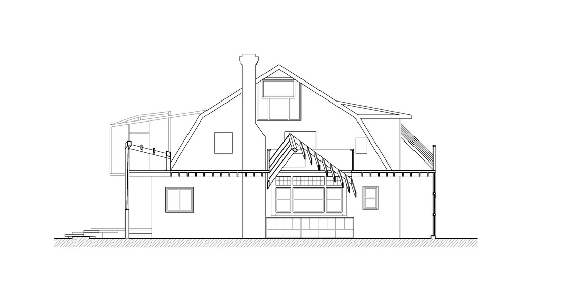 Frank Gehry, Santa Monica House - exterior elevation Arch 201 - what is the purpose of a cover letter