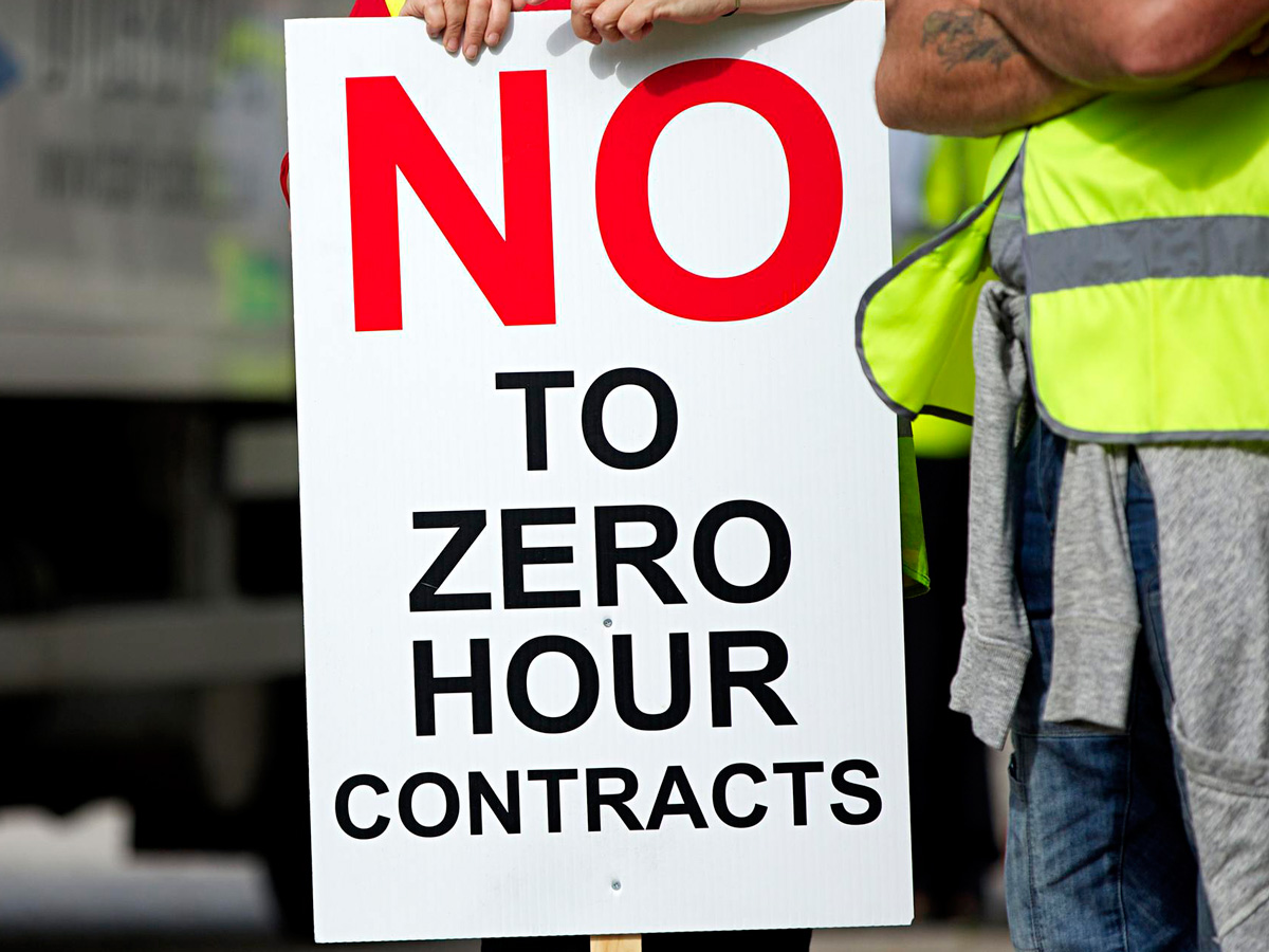 Novel Books For Students The Sad Ballad Of The Zero Hours Contract Worker Rife