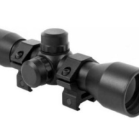 Aim Sports 4x32 Compact Rangefinder scope Review