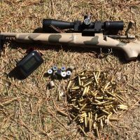 223 Remington/5.56 NATO, velocity versus barrel length: A man, his chop box and his friend's rifle