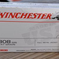 308 Winchester Barrel Length and Velocity: Winchester 147 grain FMJ