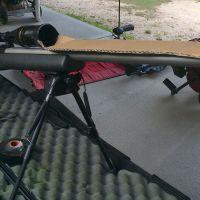 Improvised rifle mirage band