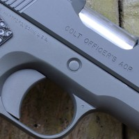 Customizing the 1911: countersink and flush cut slide stop pin