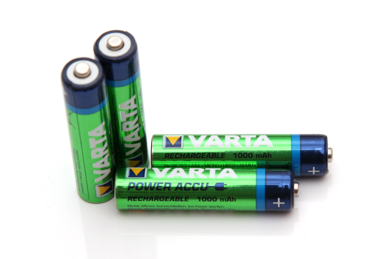 Accu Rechargeable 1 2v Aaa 1000 Mah Varta Power Accu Nimh Battery Tests