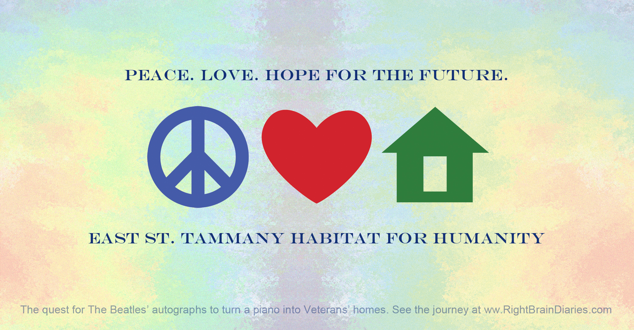 Peace, Love and Hope for the Future. A Beatles Fairy Tale.