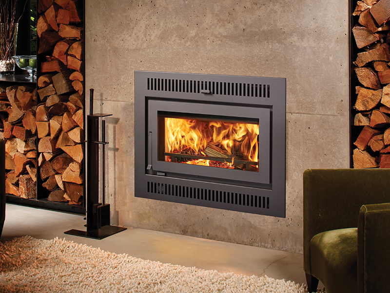 Large Wood Burning Fireplace Insert Best Home Interior