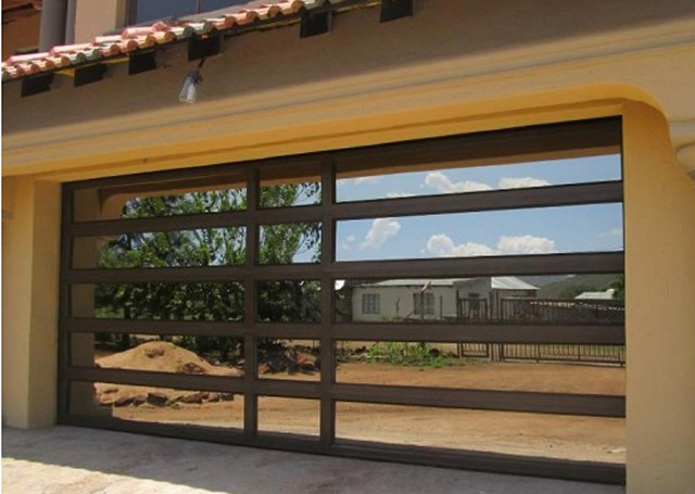 roll up glass garage doors