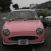 Saying Goodbye to my Pink Nissan Figaro