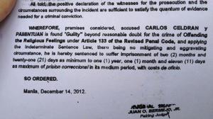 carlos celdran guilty