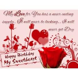 Small Crop Of Happy Birthday Heart