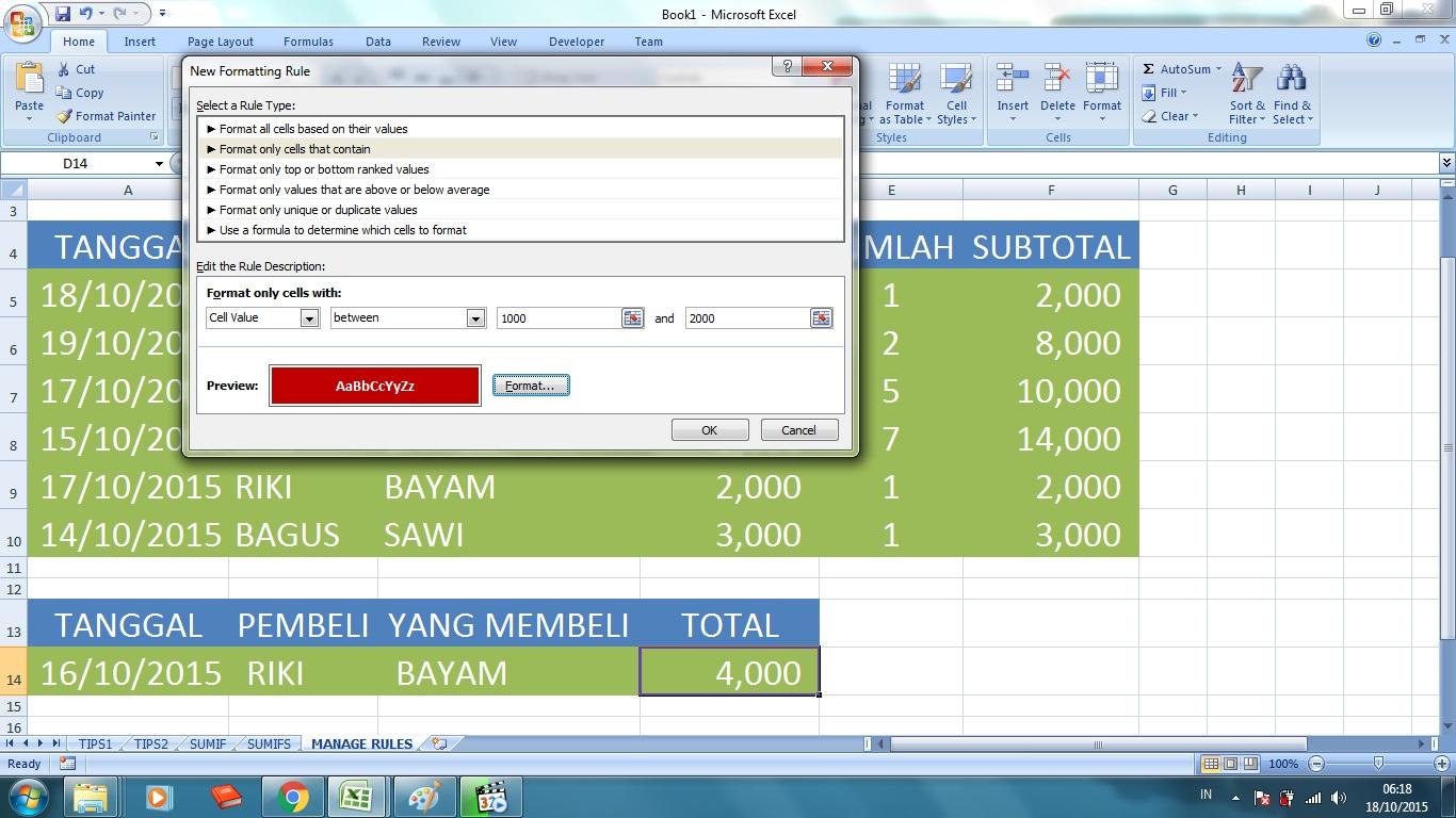 Rekrutmen Bjb Rekrutmen Bank Bjb Bankbjb Tips And Trik Microsoft Excel – Update Berkala Rikiirfanh
