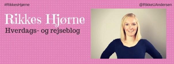 Rikkes Hjørne - blog