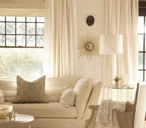 20 White Living Room Decor Ideas - Rilane - all white living room