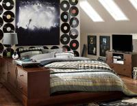 Music Inspired Bedrooms for Teenagers
