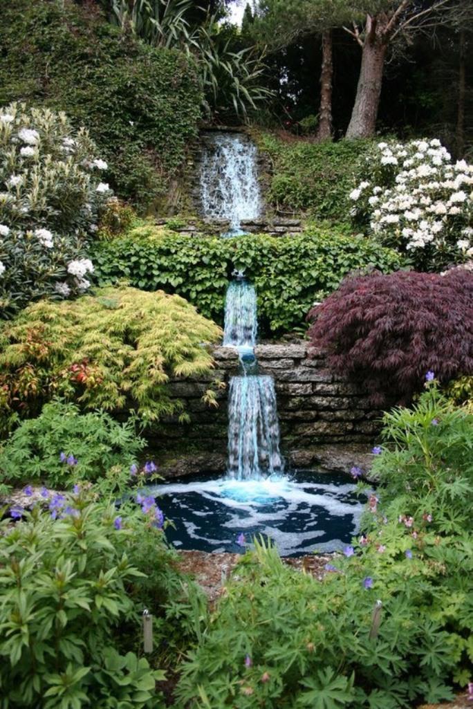 Relaxing Backyard Waterfalls Ideas Rilane