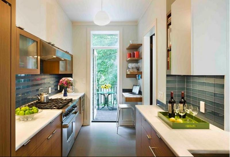 Background Dapur 18 Briliant Small Kitchen Design Ideas - Rilane
