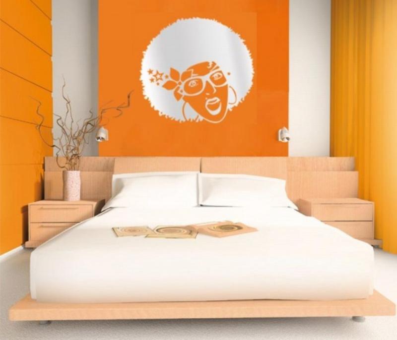 15 Refreshing Orange Bedroom Designs