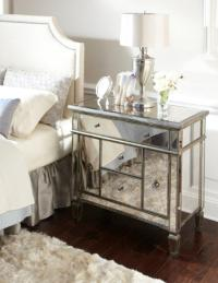 Mirrored Nightstand With Drawers. Drawer Antique Mirrored ...