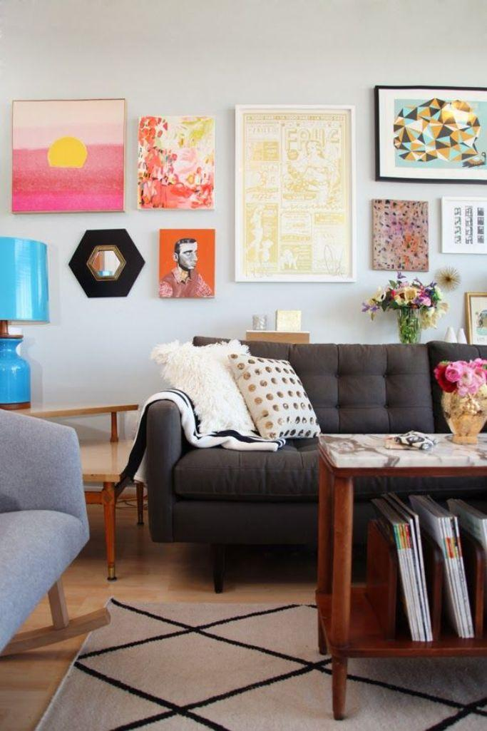 20 Modern Eclectic Living Room Design Ideas