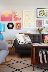 20 Modern Eclectic Living Room Design Ideas - Rilane