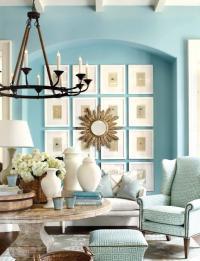 20 Radiant Blue Living Room Design Ideas - Rilane