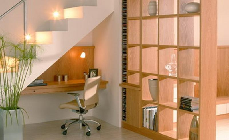 15 Smart Under Stairs Home Office Designs Rilane