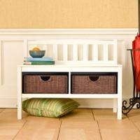 11 Brilliant Hallway Bench Design Ideas - Rilane