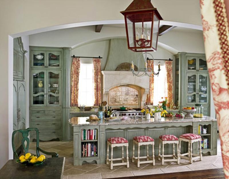 15 French Inspired Kitchen Designs - Rilane - french kitchen design