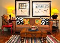 20 Inspiring Bohemian Living Room Designs - Rilane
