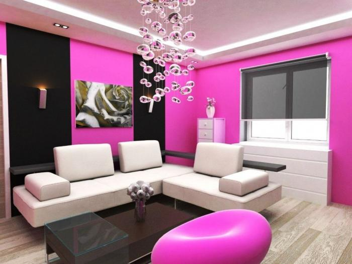 15 Solid Color Living Rooms with Wall Paintings - Rilane - wall colors for living rooms