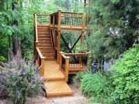 15 Natural and Beautiful Outdoor Staircases - Rilane