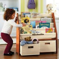 10 Great and Colorful Kids Bookshelves - Rilane