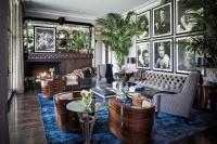 20 Bold Art- Deco Inspired Living Room Designs - Rilane